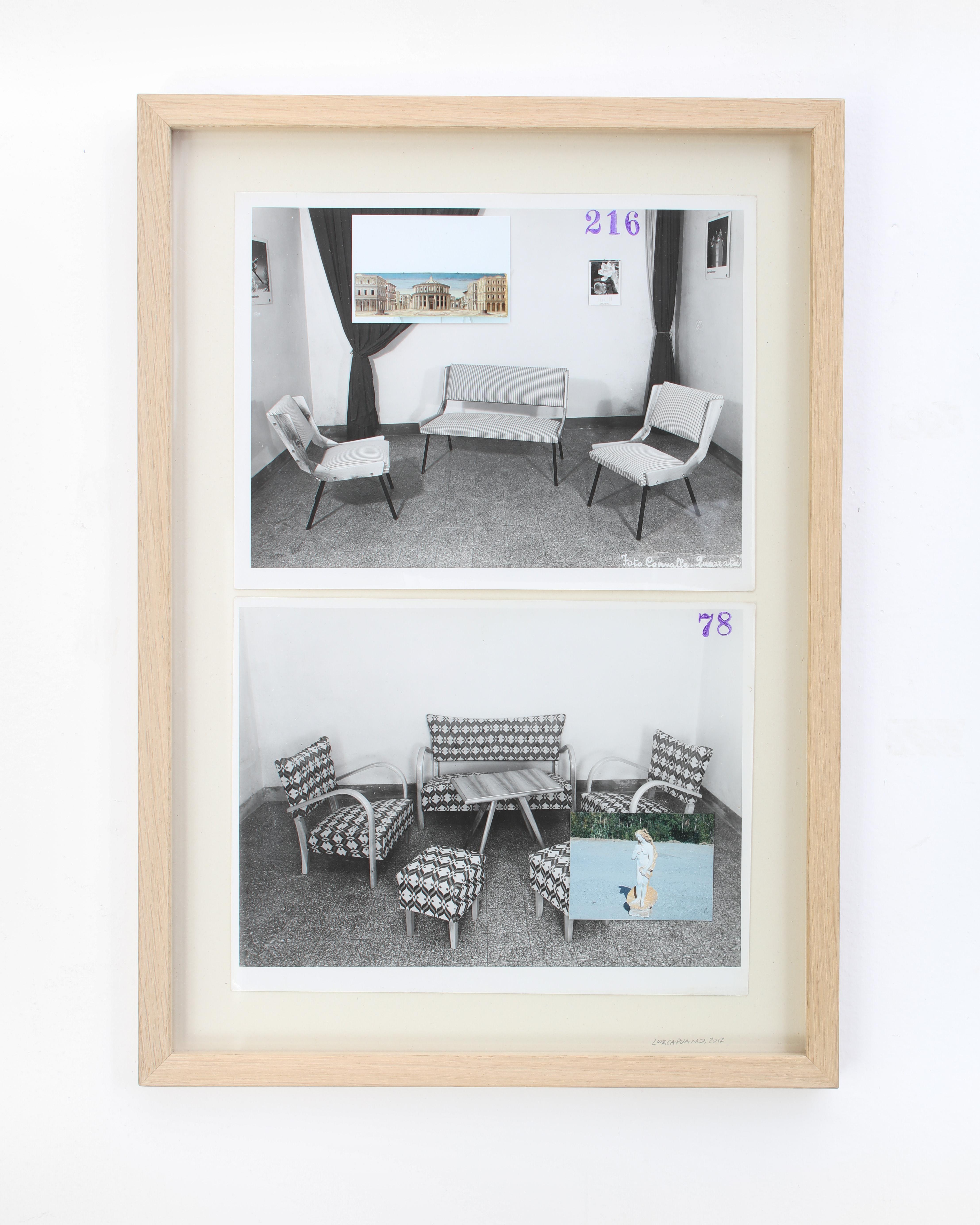 Stampa fotografica con inserti, 30 x 45 cm, tiratura unica