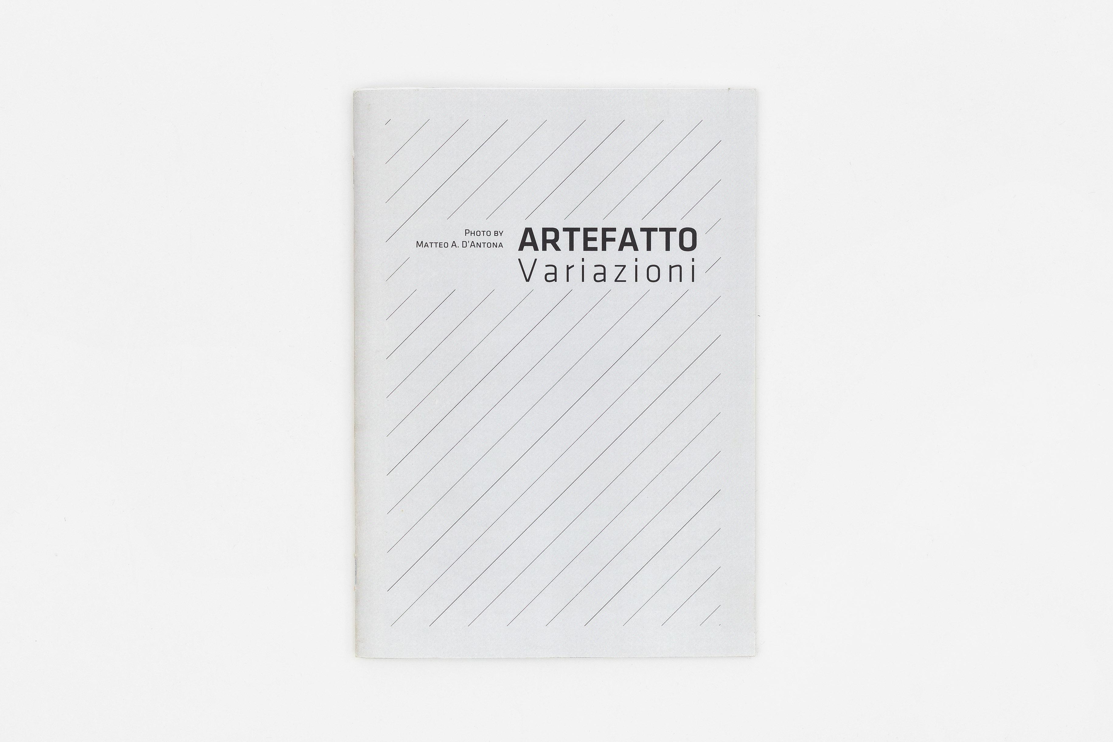 MatteoD'Atona - Artefatto Variazioni / Esame Triennio ISIA