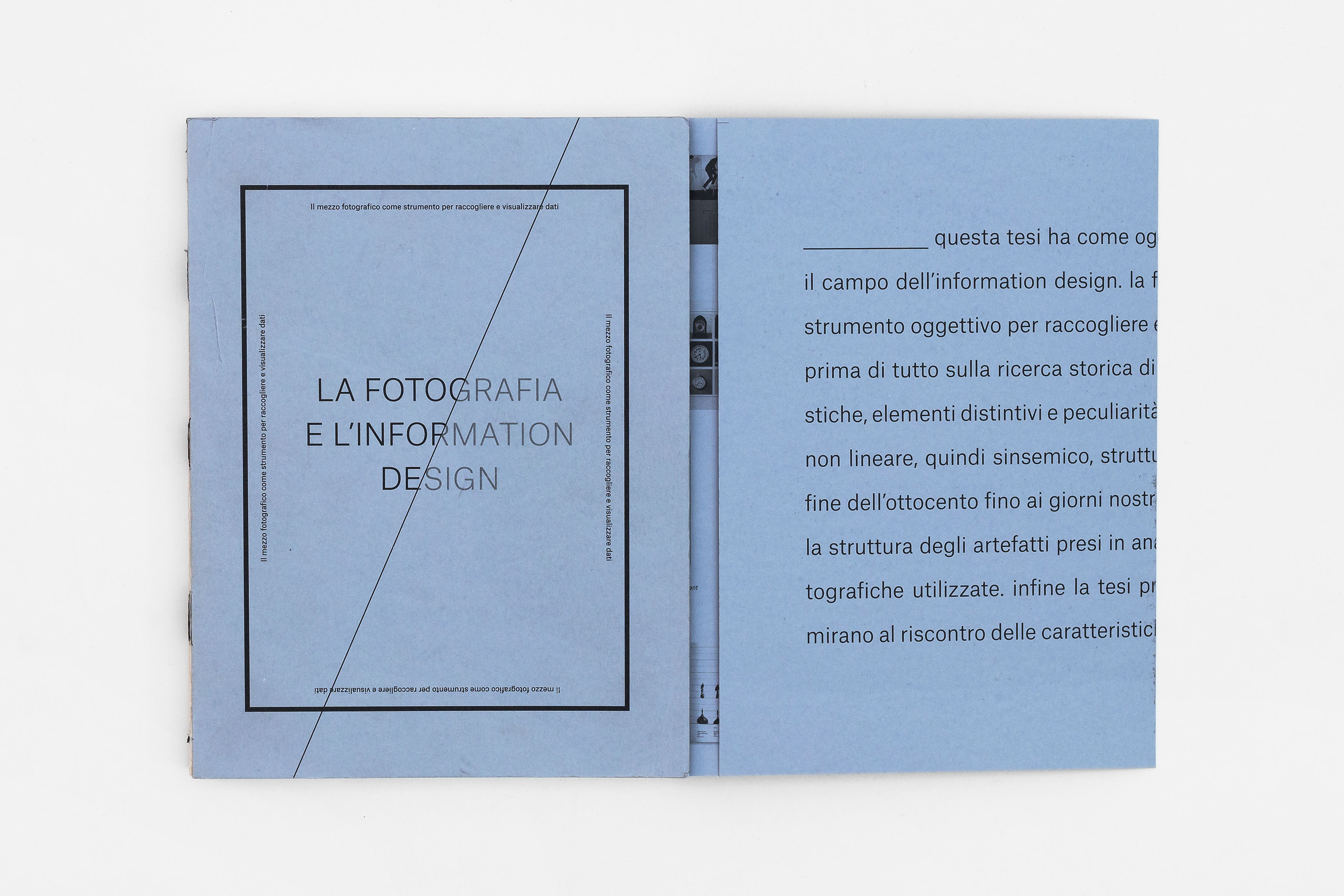 Veronica Maccari - La fotografia e l'Information Design / Triennio ISIA