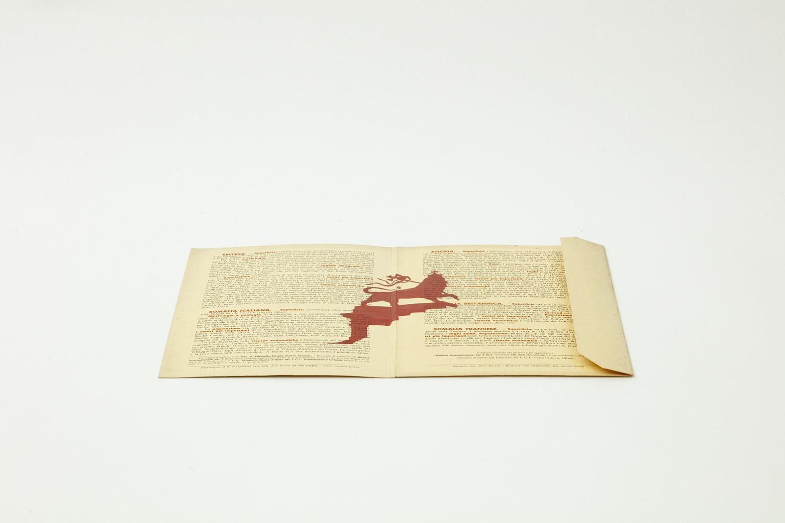 Stampa diretta su sovracopertina originale 1938