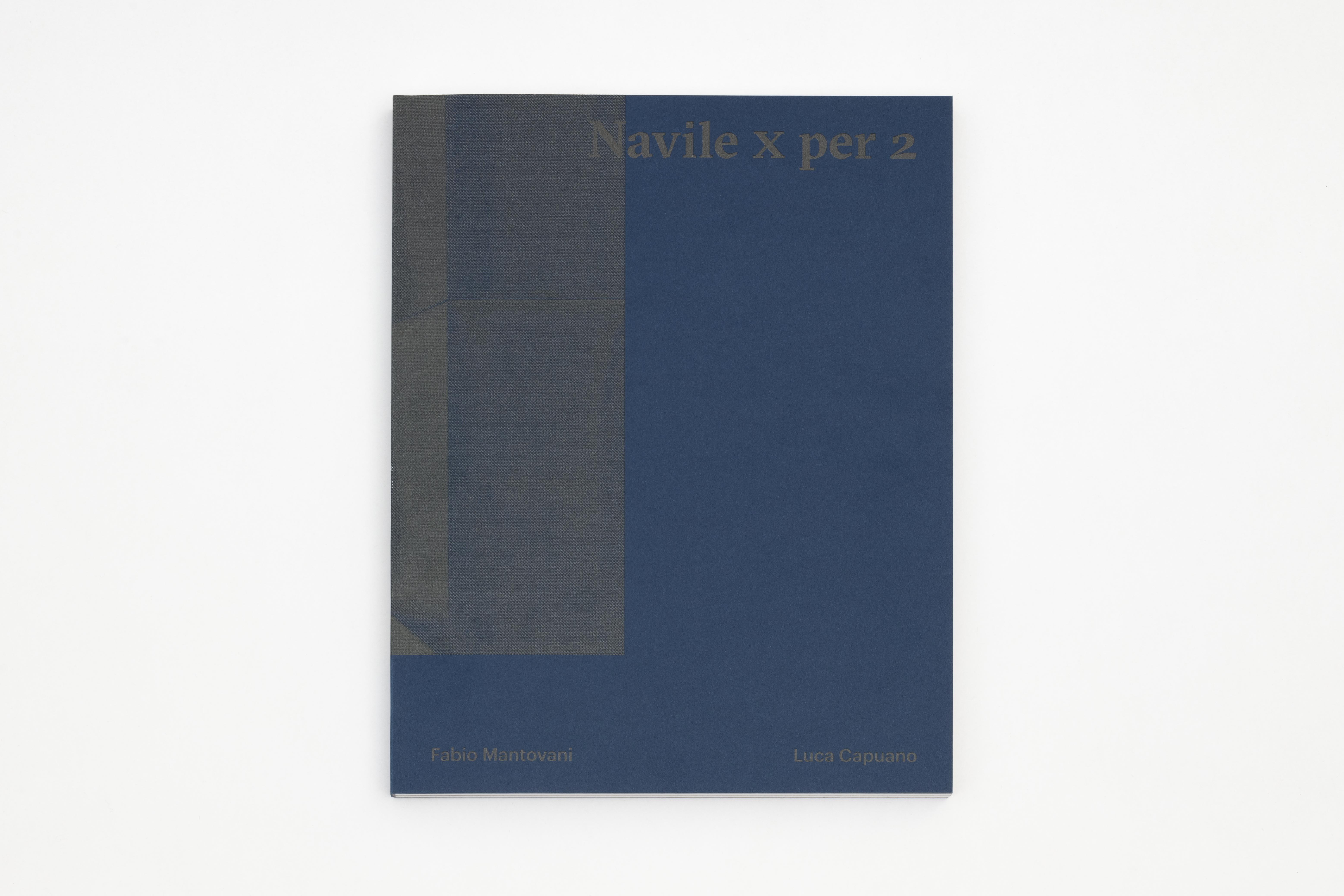 'Navile X pr 2'  design Rosanna Lama